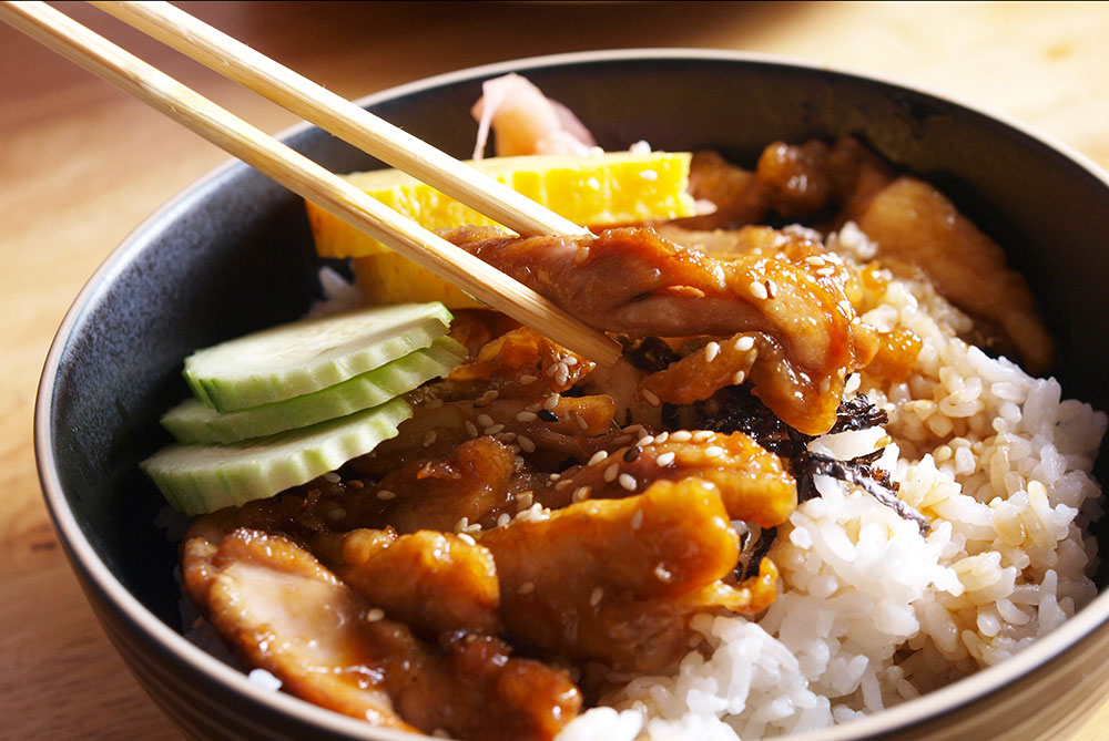 Recette poulet teriyaki facile et rapide par herv cuisine - Herve cuisine hamburger ...