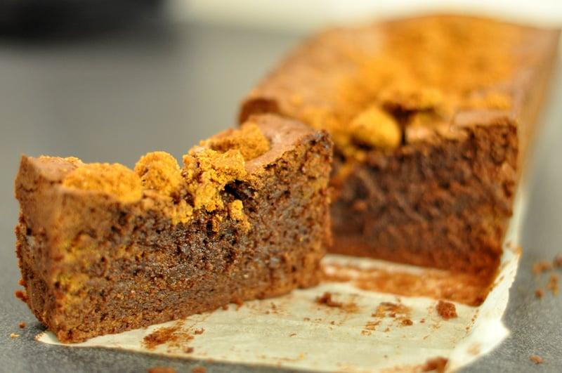 Cake speculoos chocolat - HerveCuisine.com