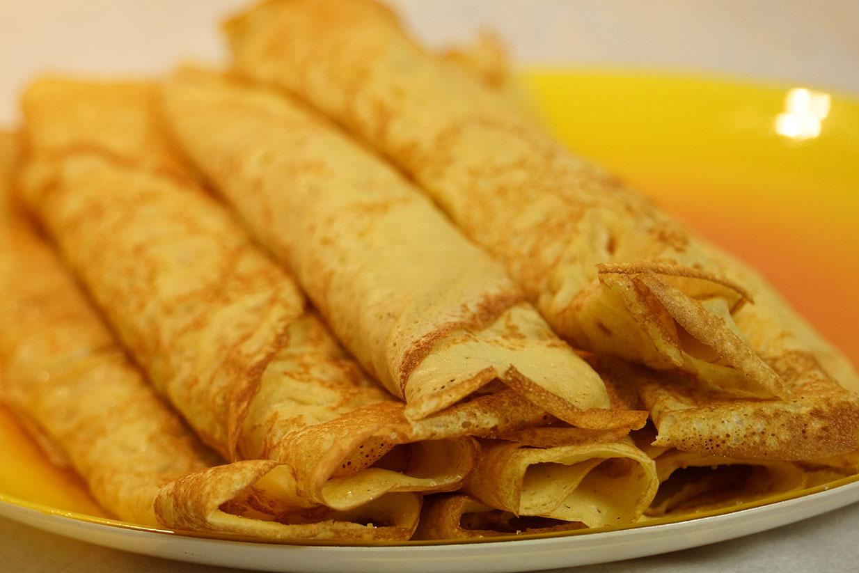 Recette cr pe arts et voyages - Recette pancakes herve cuisine ...