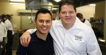 Hervé Cuisine et le Chef Pierrot Ayer