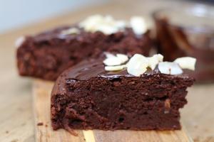 Recette vegan du Gâteau moelleux au chocolat