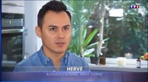 Hervé Cuisine sur TF1 : bouchées à la Reine aux 2 saumons