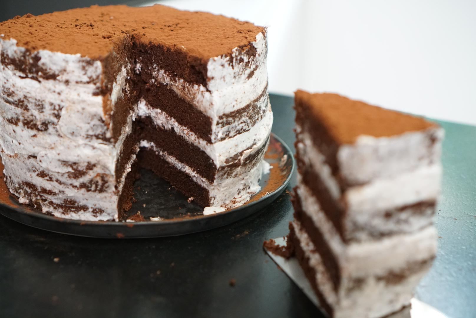 Recette Du G Teau Chocolat Vegan Tage Ou Layer Cake