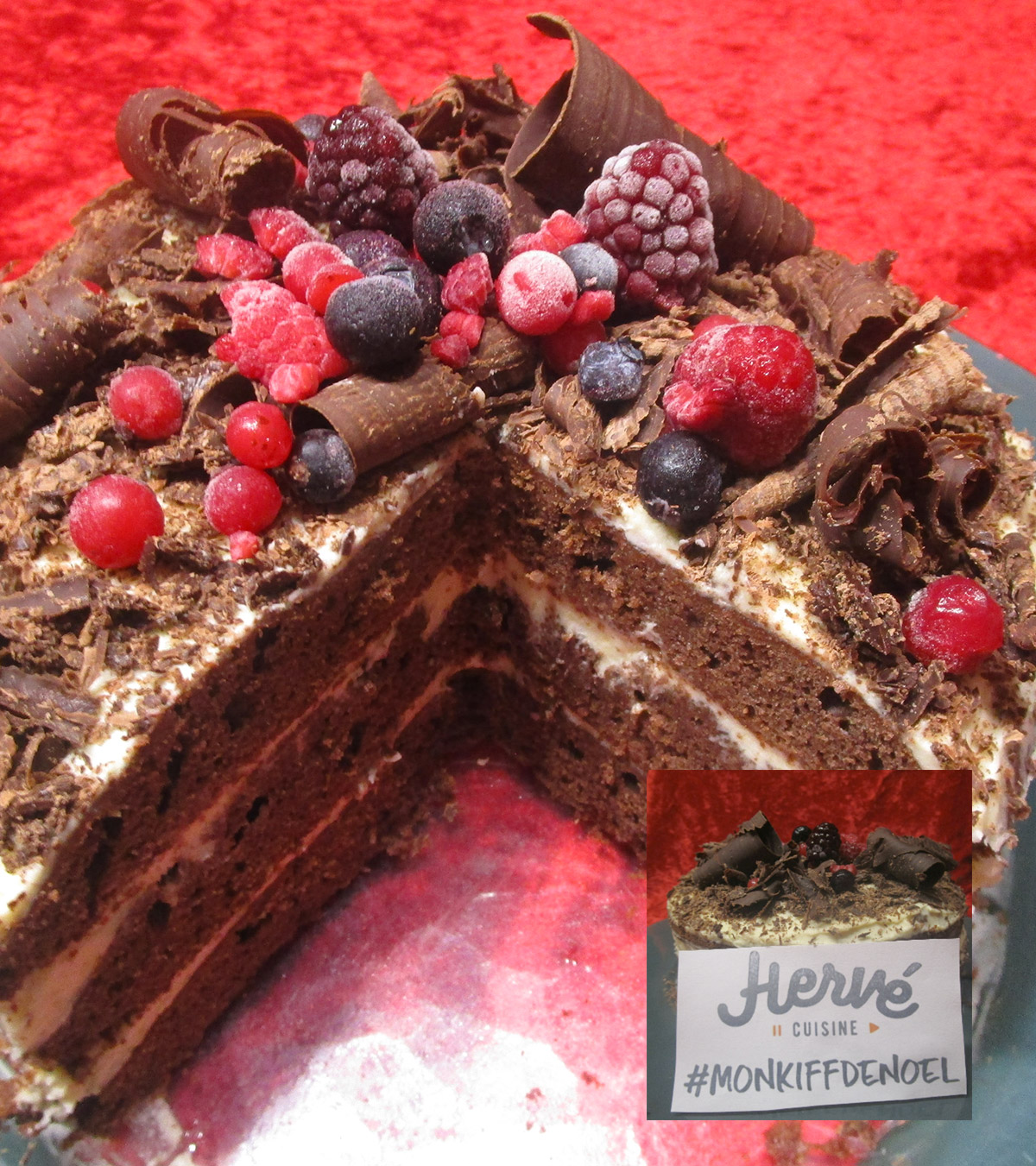 Recette Layer Cake Chocolat Speculoos