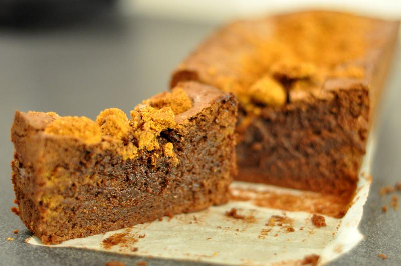 Cake Poire Chocolat Vegan