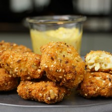 Recette des wraps de poulet croustillant maison facile - Herve cuisine hamburger ...